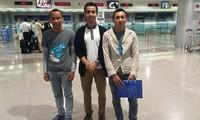 Hai ngư dân Việt Nam còn lại từ Micronesia về nước an toàn