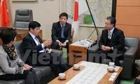 Việt Nam tăng cường hợp tác kinh tế với tỉnh Fukushima của Nhật Bản