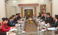 Thứ trưởng Bộ Công an Việt Nam Tô Lâm tiếp Phó Chủ tịch Tập đoàn Microsoft