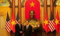 Việt Nam-Hoa Kỳ cam kết hướng tới tương lai