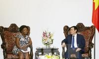 Phó Thủ tướng Vương Đình Huệ tiếp Phó Chủ tịch Ngân hàng Thế giới phụ trách châu Á – Thái Bình Dương