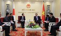 Bộ trưởng Bộ Công an Tô Lâm tiếp Trưởng Đại diện Cơ quan Hợp tác quốc tế Nhật Bản (JICA) Việt Nam