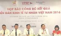 Công bố Sách trắng Diễn đàn Kinh tế tư nhân Việt Nam 2016