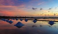 Cánh đồng muối Việt Nam lọt vào Top điểm đến ngắm hoàng hôn đẹp nhất