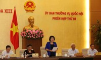 Ủy ban thường vụ Quốc hội họp phiên thứ 50