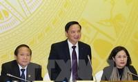Phiên họp toàn thể lần thứ nhất Ủy ban Pháp luật của Quốc hội khóa XIV