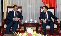 Phó Thủ tướng, Bộ trưởng Ngoại giao Phạm Bình Minh tiếp Đại sứ Campuchia và Đại sứ CHLB Bức