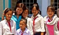 Tâm nguyện của tôi là được thực hiện các dự án từ thiện tại quê nhà