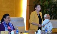 Khai mạc phiên họp thứ 4 Ủy ban Thường vụ Quốc hội