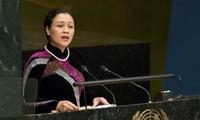 Việt Nam kêu gọi cộng đồng quốc tế xây dựng thế giới hòa bình và an ninh