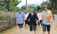 Cả nước chung tay giúp đỡ người dân miền Trung bị thiệt hại do mưa lũ
