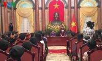 Phó Chủ tịch nước Đặng Thị Ngọc Thịnh tiếp Đoàn đại biểu học sinh, sinh viên dân tộc thiểu số