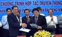 Đài Tiếng nói Việt Nam và Ủy ban nhân dân thành phố Đà Nẵng ký kết hợp tác truyền thông