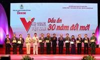 """Tôn vinh 30 cá nhân, tập thể trong chương trình """"Vinh quang Việt Nam"""""""