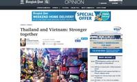 Báo Thái Lan đánh giá tích cực triển vọng quan hệ với Việt Nam