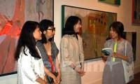 Khai trương triển lãm mỹ thuật đặc biệt kỷ niệm 25 năm quan hệ ngoại giao Việt Nam – Hàn Quốc
