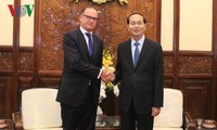 Chủ tịch nước Trần Đại Quang tiếp Đại sứ Áo chào từ biệt