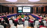 Ngày làm việc đầu tiên của Hội nghị lần thứ Ba các quan chức cao cấp APEC (SOM 3)