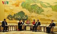 Chính Hiệp Trung Quốc coi trọng phát triển quan hệ hữu nghị với Mặt trận Tổ quốc Việt Nam