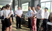 Đoàn đại biểu Châu ủy Châu Văn Sơn tỉnh Vân Nam, Trung Quốc, thăm và làm việc tại tỉnh Hà Giang