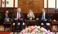 Chủ tịch nước Trần Đại Quang tiếp Đại sứ Hoa Kỳ Ted Osius chào từ biệt
