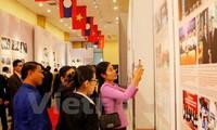 Trưng bày gần 400 bức ảnh, tài liệu quý về quan hệ truyền thống Việt - Lào