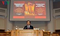 Đoàn đại biểu Đảng Cộng sản VN dự Cuộc gặp quốc tế các Đảng Cộng sản và công nhân lần thứ 19
