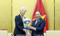 Thủ tướng Nguyễn Xuân Phúc tiếp  Giám đốc Điều hành Quỹ Tiền tệ Quốc tế