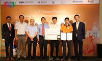 Sinh viên Việt đạt giải cao tại Lễ hội Khởi nghiệp Thanh niên Toàn cầu Việt - Hàn năm 2017