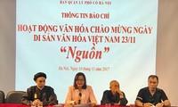 Nhiều hoạt động hấp dẫn chào mừng Ngày Di sản văn hoá Việt Nam 23/11