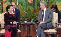 Chủ tịch Quốc hội Nguyễn Thị Kim Ngân kết thúc chuyến thăm chính thức Singapore, Australia