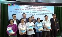 Chính phủ Hàn Quốc hỗ trợ 10.000 tấn gạo cho các tỉnh miền Trung - Tây Nguyên