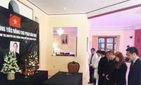 Tổ chức trọng thể Lễ viếng nguyên Thủ tướng Phan Văn Khải tại Marocco