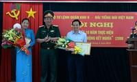 """10 năm thực hiện """"Quy ước phối hợp hoạt động kết nghĩa"""" giữa Đài TNVN và Bộ Tư lệnh quân khu 9"""