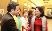 Phó Chủ tịch nước Đặng Thị Ngọc Thịnh gặp gỡ đại diện kiều bào và một số công ty Australia