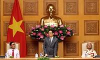 Phó Thủ tướng Vũ Đức Đam tiếp đoàn đại biểu người có công tỉnh Nghệ An