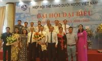 Đại hội đại biểu Hiệp hội Thể thao dưới nước Việt Nam nhiệm kỳ 2018-2023