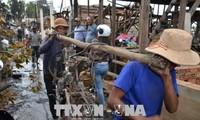 Đại sứ quán và cộng đồng người Việt tại Campuchia chia sẻ khó khăn với kiều bào sau vụ hỏa hoạn