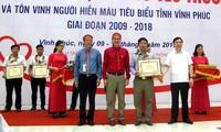 Hành trình Đỏ 2018: Hơn 2000 người tham gia hiến máu tình nguyện tại tỉnh Vĩnh Phúc
