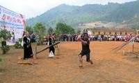 Kho Mu ethnic people's ritual to pray for rain