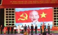 Quang Ninh marks its 50th founding anniversary