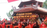 Temple of late Party leader Le Duan inaugurated