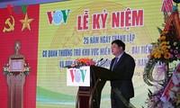 VOV Central Region Bureau conferred Labor Order on 25th founding anniversary