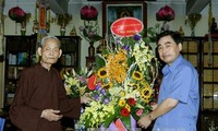 The Government congratulates Vietnam Buddhist Shangha on Vu Lan Festival