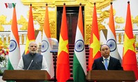 Vietnam-India relations develop to a higher level