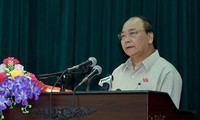 Prime Minister Nguyen Xuan Phuc meets voters in Hai Phong City