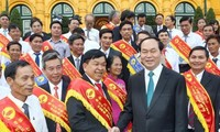 President Tran Dai Quang: rural areas modernization is a primary task
