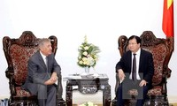 Deputy Prime Minister receives EU High Commissioner for Environment