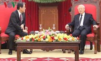 Party General Secretary receives new Japanese Ambassador