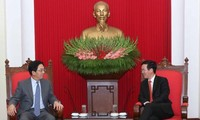 Senior Party official receives Chinese Ambassador